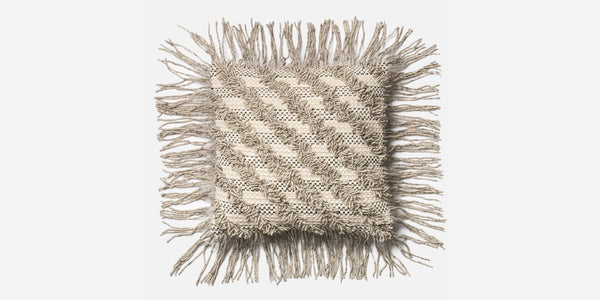 Chenille Fringe Pillow