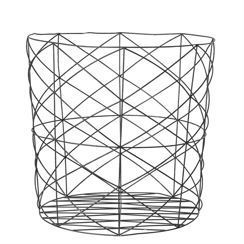 Oversized Metal Storage Basket