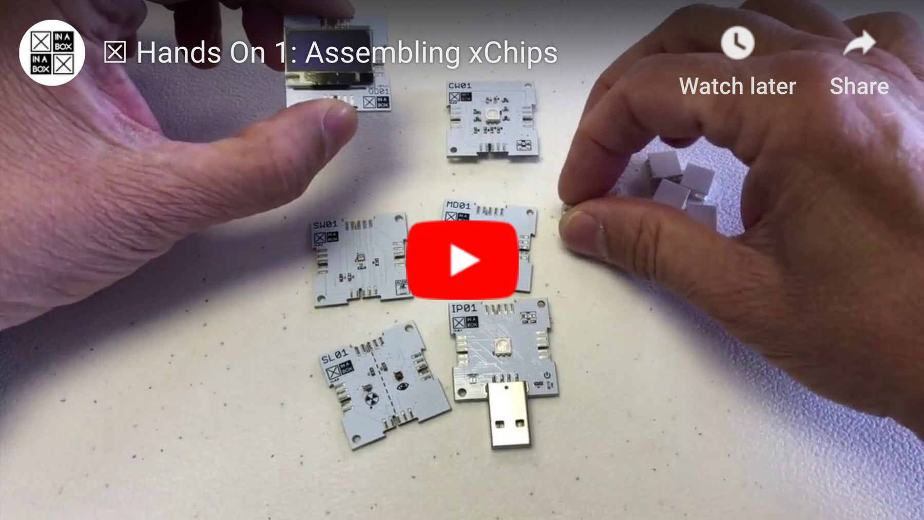 Hands On 1: Assembling xChips