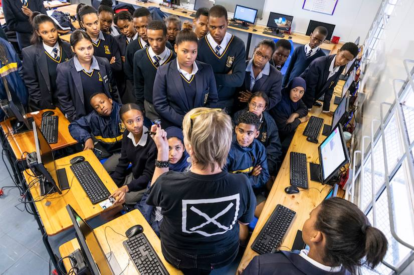 Pre-Launch Satellite Workshop at Soneike High School in Cape Town