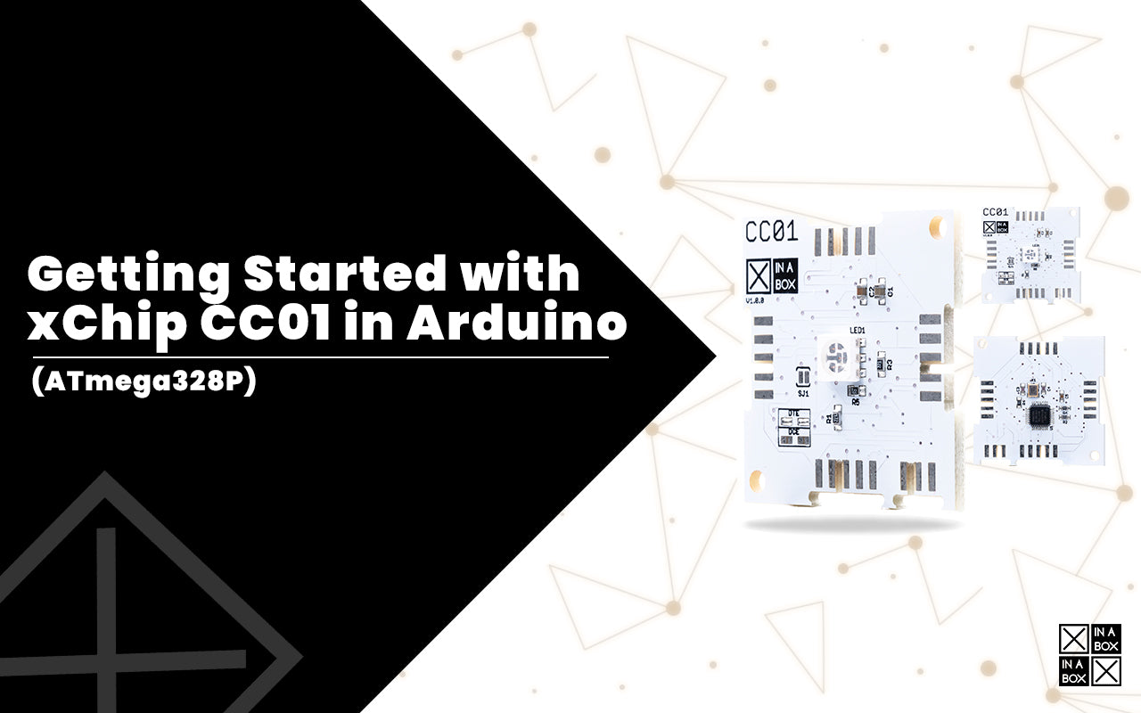 Getting Started with xChip Core CC01 (Arduino Pro/Pro Mini) in Arduino IDE