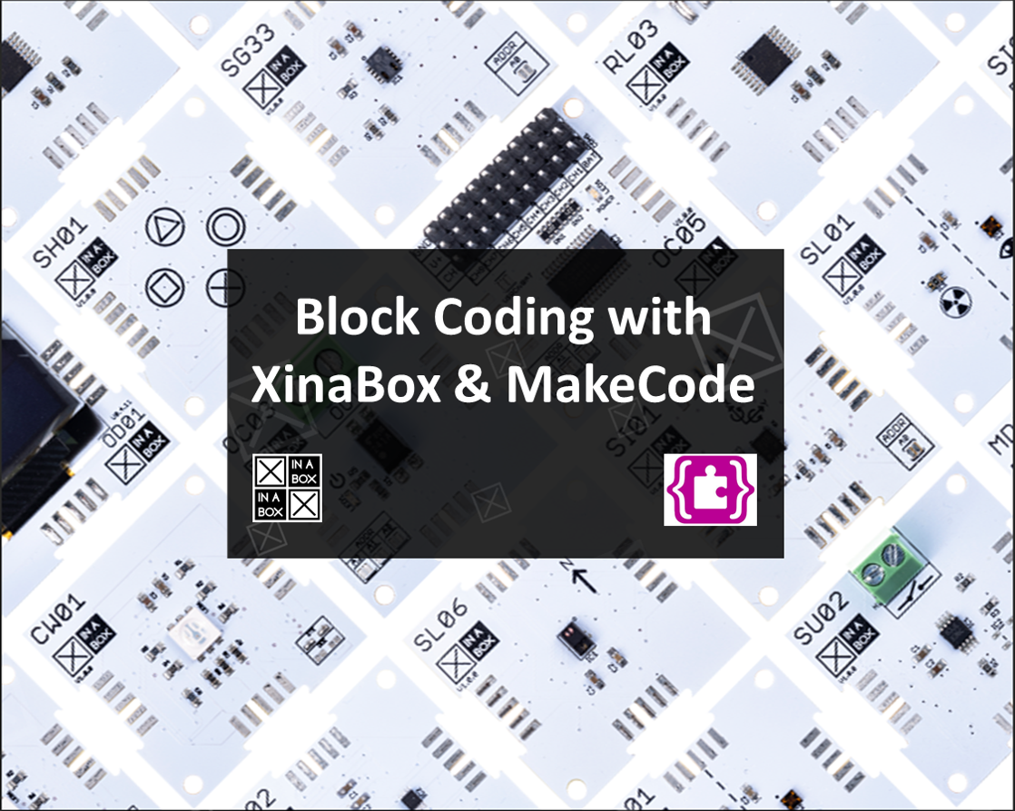 XinaBox lands on MakeCode