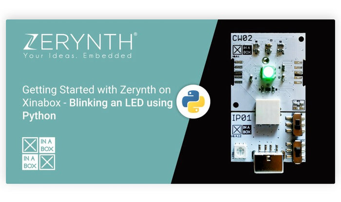 Tutorial: Blinking an LED using Python, by Zerynth