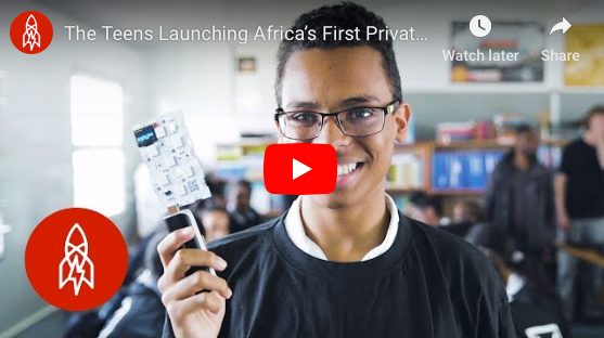 The Teens Launching Africa's First Private Satellite - Great Big Story