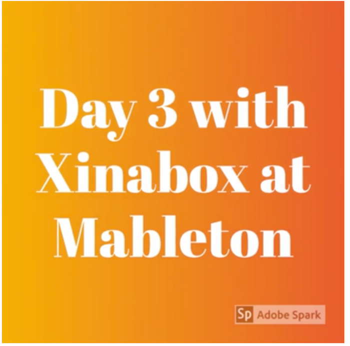 Learners enjoying XinaBox at Mableton Elementary