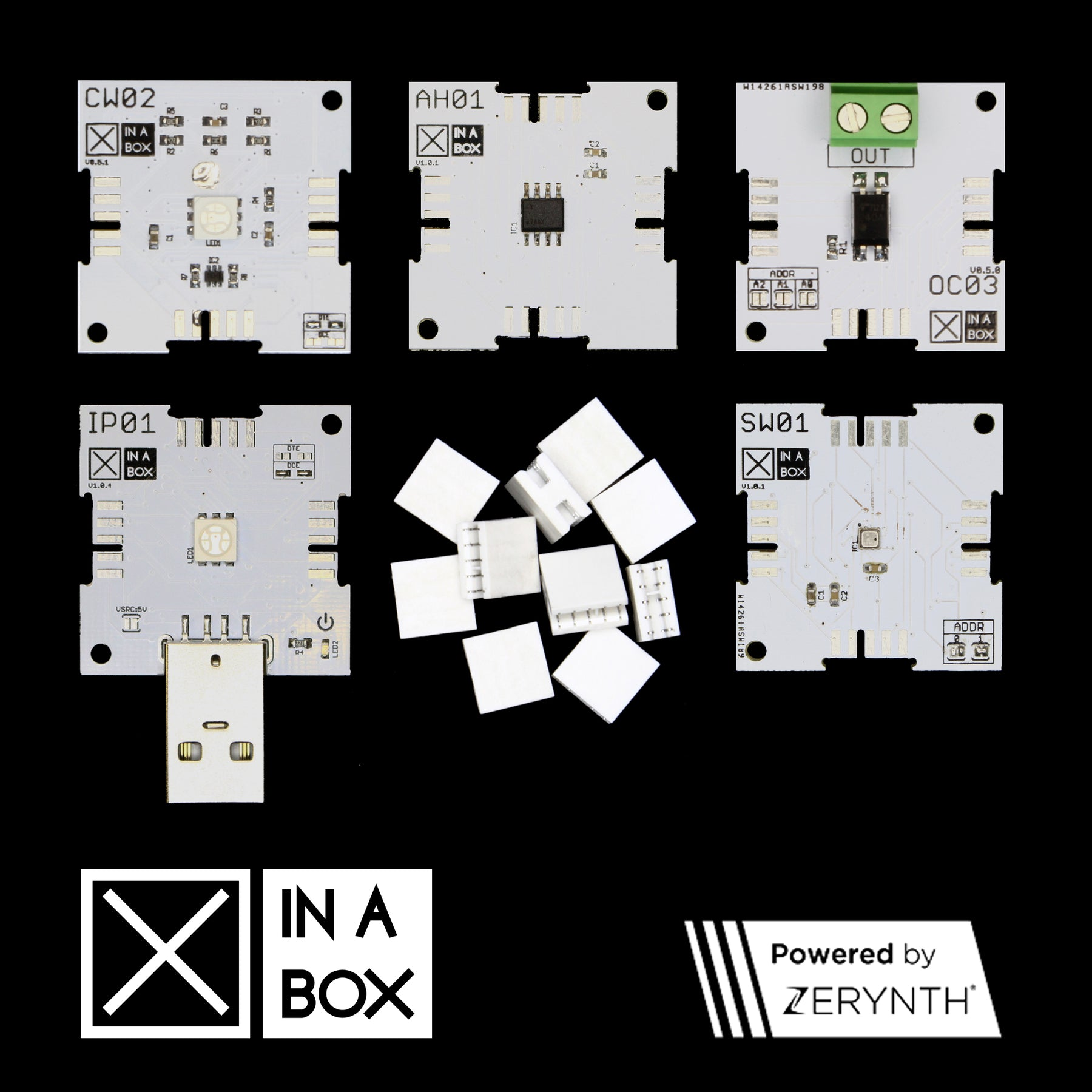 We are excited to launch the XinaBox IoT Starter Kit, powered by Zerynth