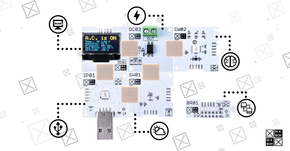 Launching XinaBox's IoT Starter Kit (XK19)