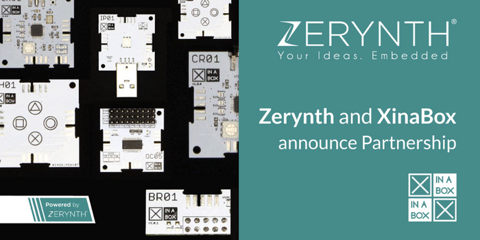 XinaBox and Zerynth announce partnership