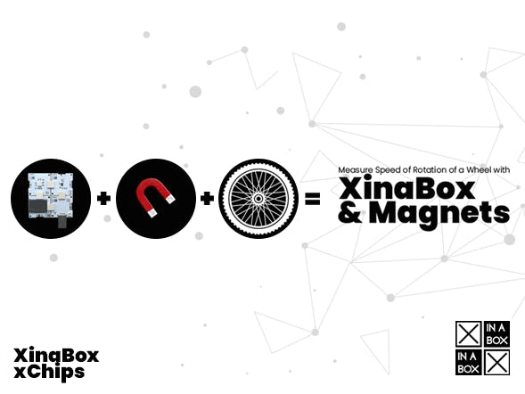 Measure Bike RPM with XinaBox and Magnets