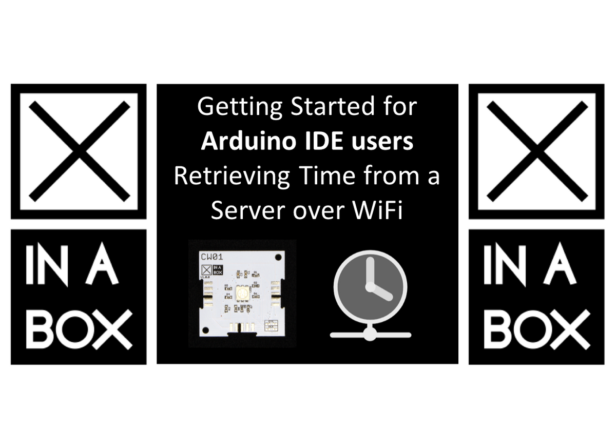 Getting Started for Arduino users - Retrieving the time from a time