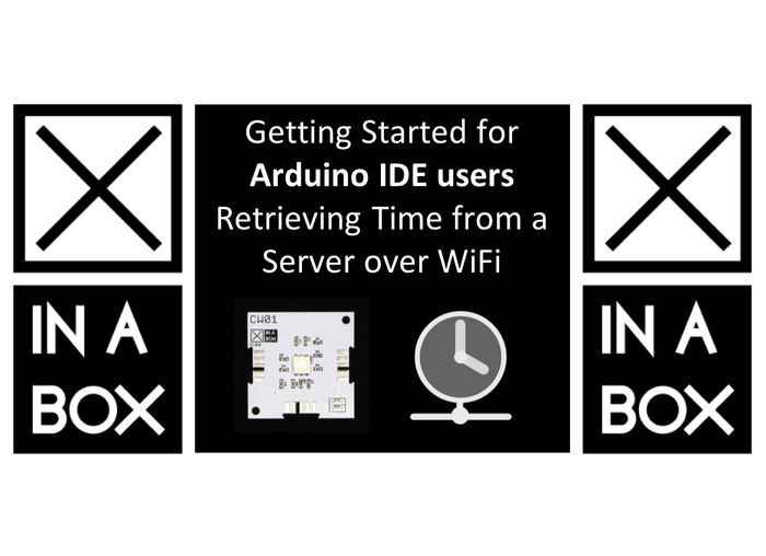 Getting Started for Arduino users - Retrieving the time from a time server using ESP8266