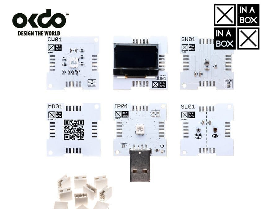 Build a Weather Station with XinaBox and Okdo IoT Cloud