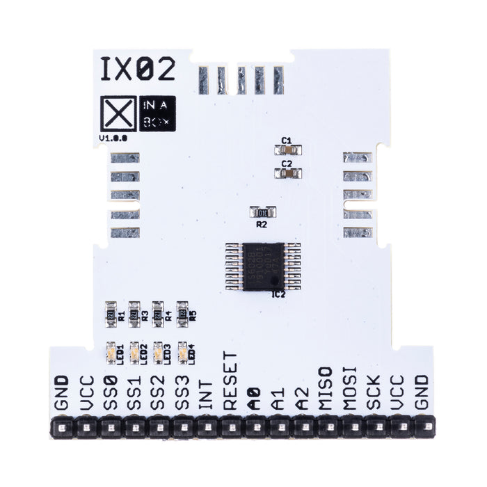 IX02 - SPI to xBUS Breakout (SC18IS602B)