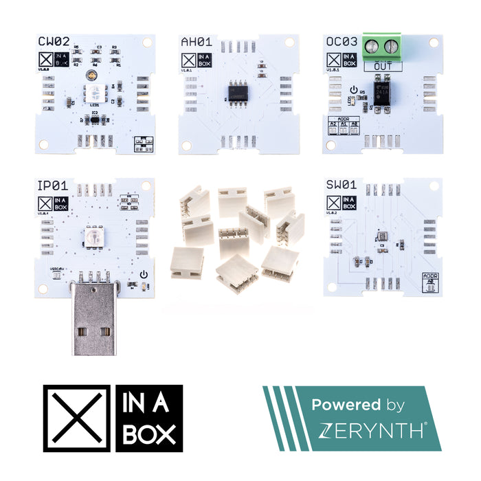 XK12 - IoT Starter Kit, powered by Zerynth