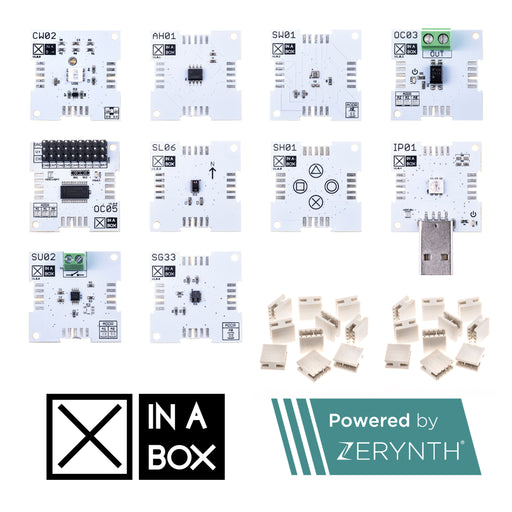 XK13 - XinaBox IoT Plus Kit, powered by Zerynth
