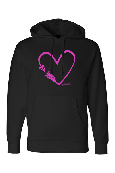 Unisex BE Arrow Heart Hoodie