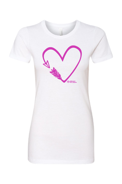Women's BE Arrow Heart Tee