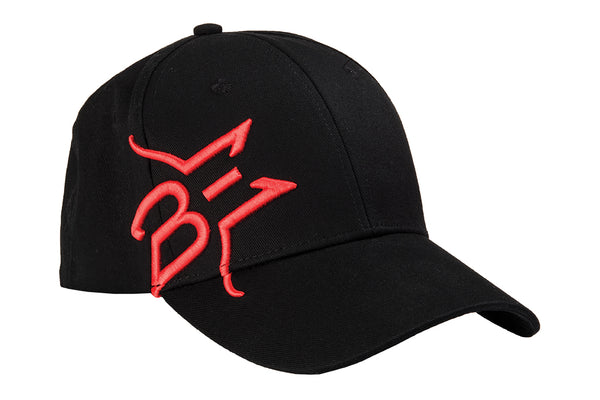 Embroidered Hat - Black