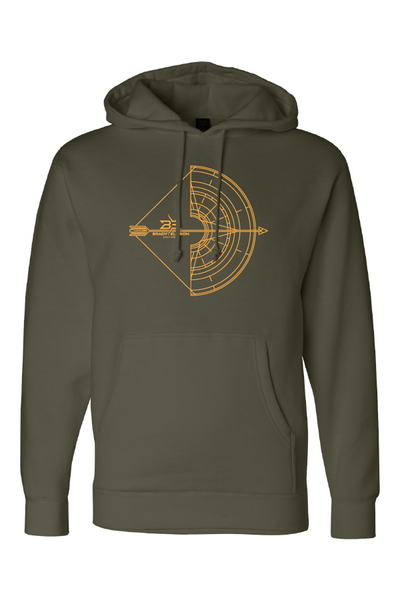 Unisex BE Compass Bow Hoodie