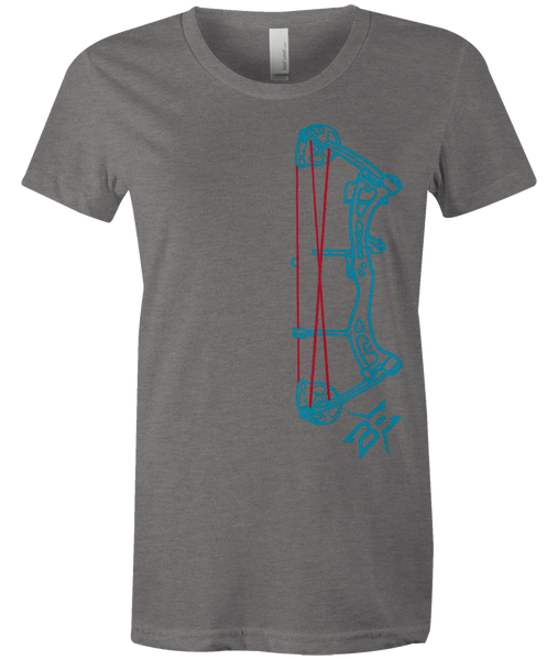 Women's BE Compound Bow Outline Tee