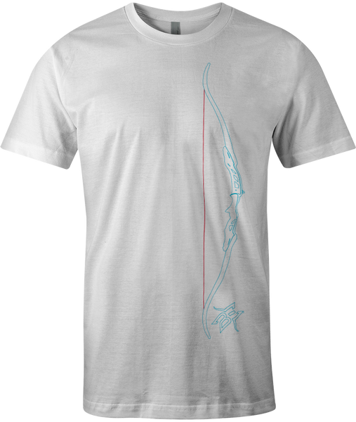 BE Recurve Bow Outline Tee
