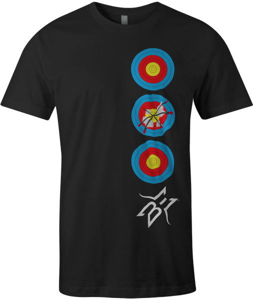BE Stacked Targets Tee