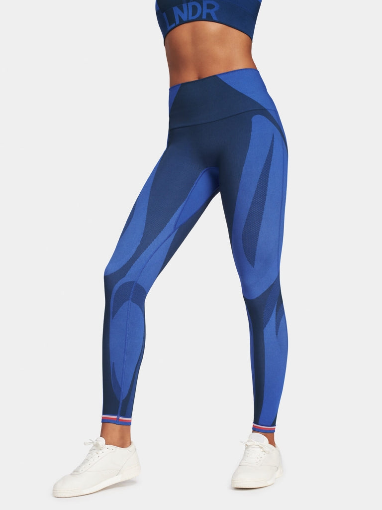 ALL SEASONS Legging / Blue Petrol