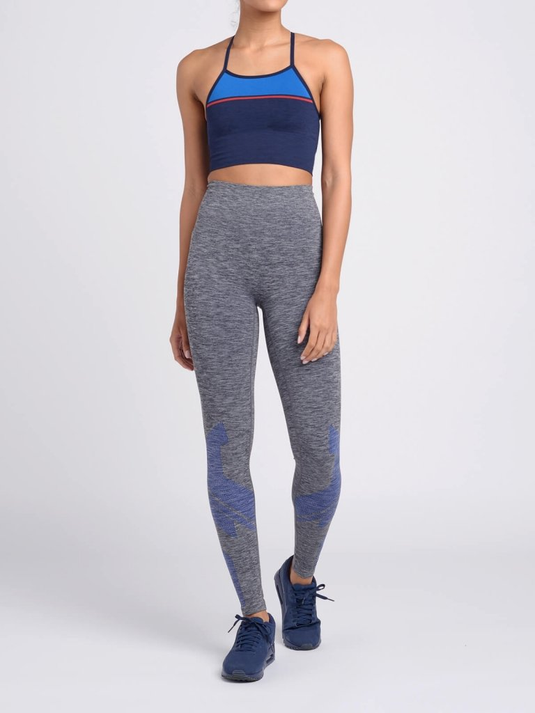EIGHT EIGHT Leggings / Mid Charcoal Marl