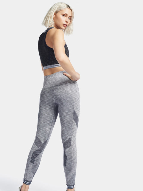 FOCUS Leggings / Light Grey Marl