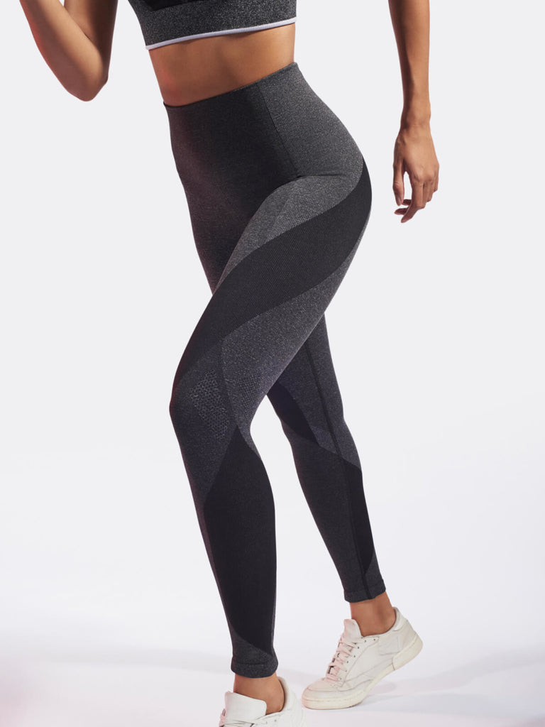 LAUNCH Legging / Dark Grey Marl