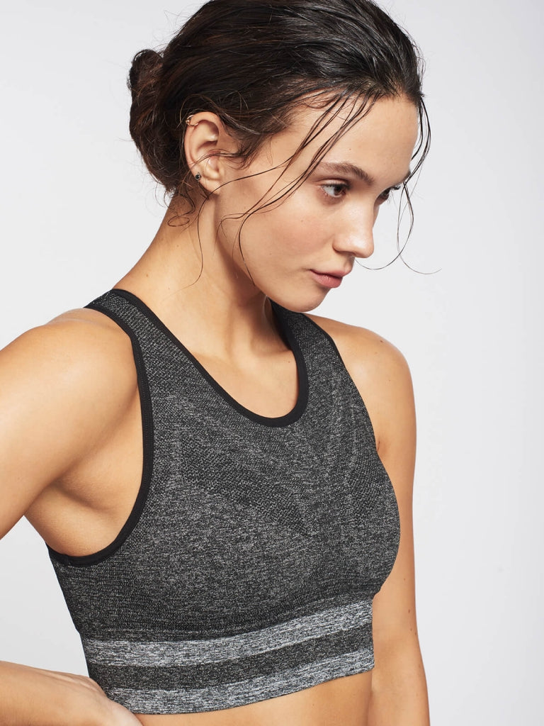SHAPE Sports Bra / Dark Grey Marl