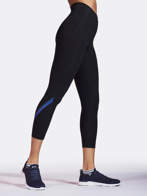 STELLAR CROP LEGGING / BLACK
