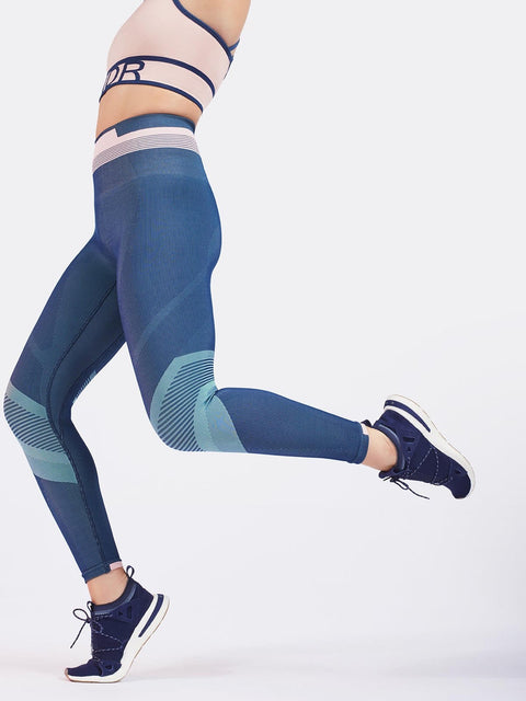 SOLAR LEGGINGS / SAILOR BLUE
