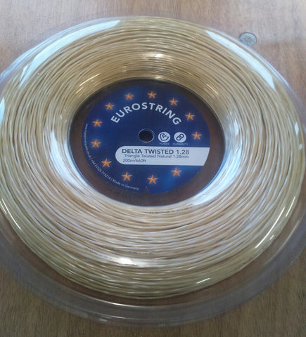 Eurostring Delta Twisted 1.28mm - 200m reel