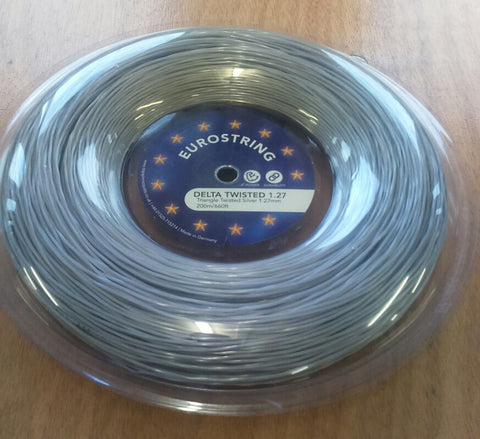 Eurostring Delta Twisted 1.27mm - 200m reel