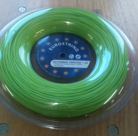 Eurostring Octomax Twisted 1.28mm - 200m reel