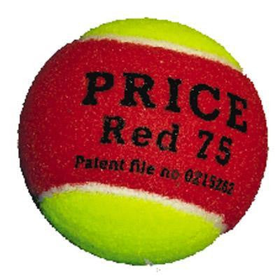 Price Red 75 Low Compression Tennis Balls