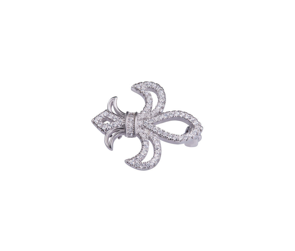 Silver Royalty Brooch