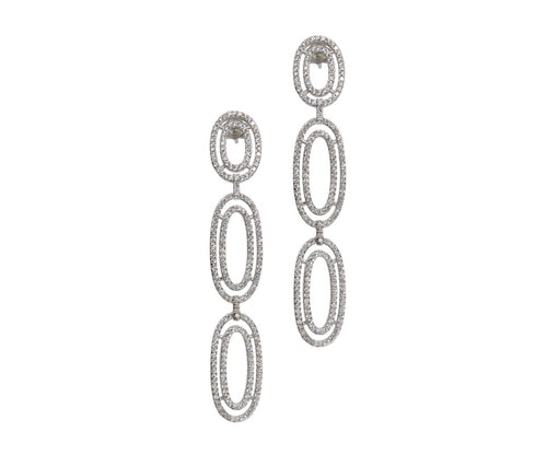 Oval Elegant Earrings