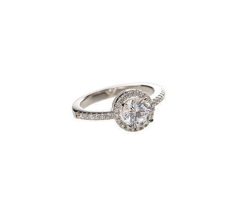 Rose Diamond Simply Enchanted Ring