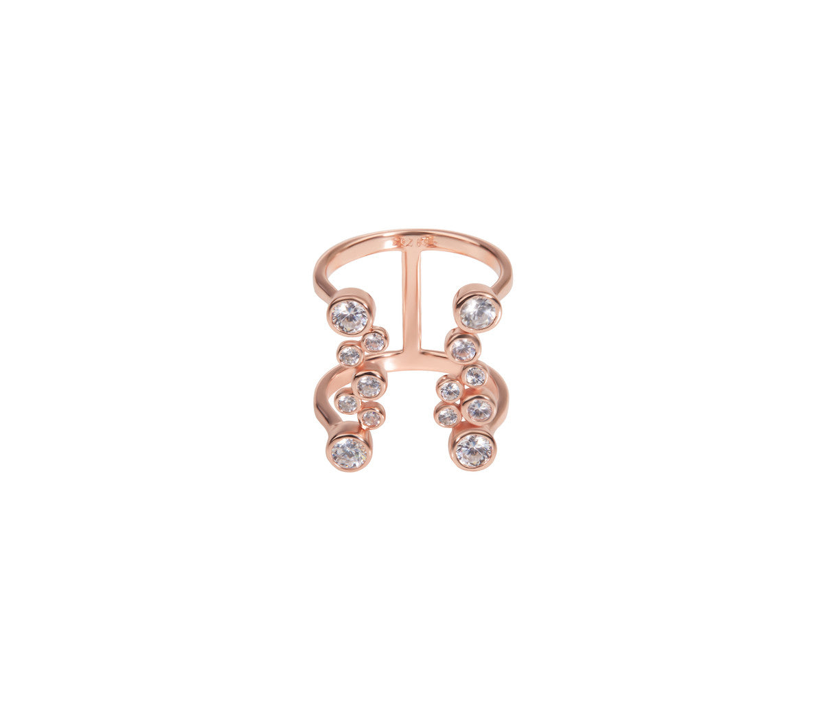 Pink Bubble Dazzling Ring