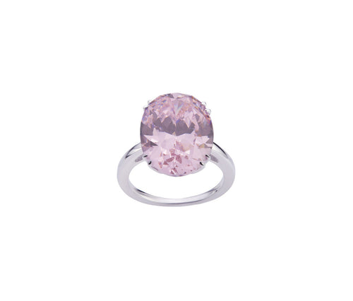 Rose Diamond Enchanted Oval Ring