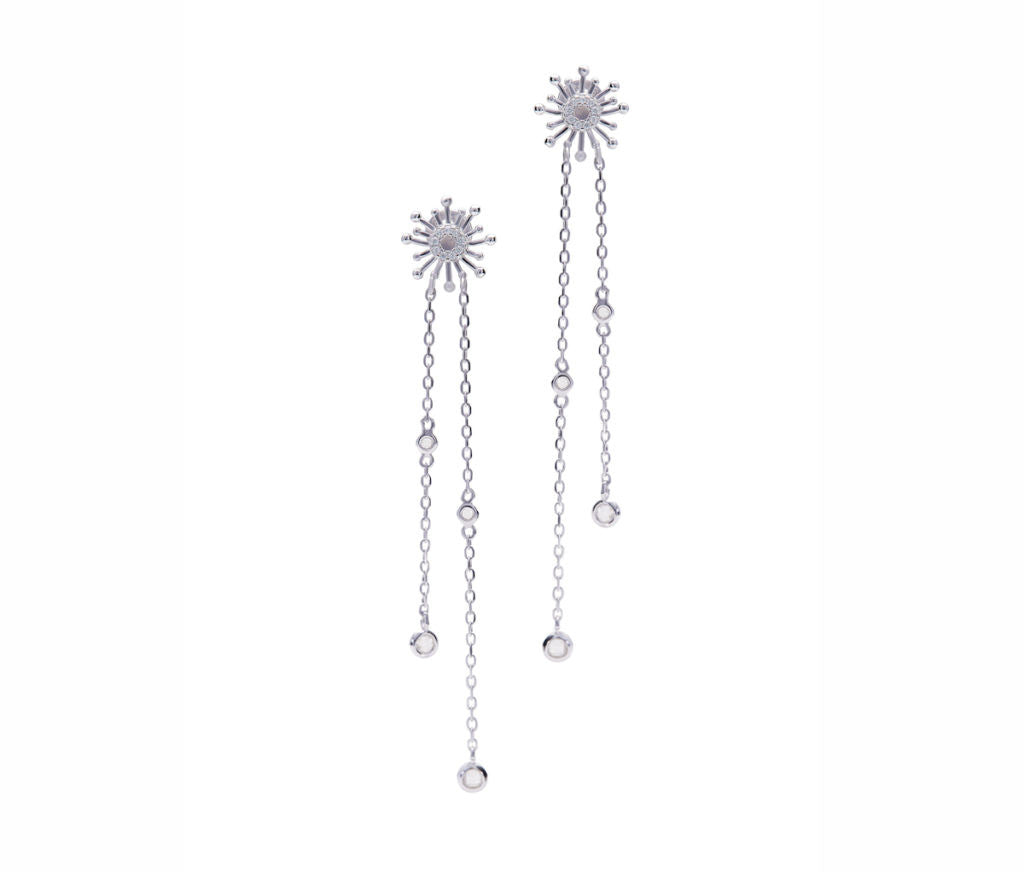 Elegant Fireworks Earrings