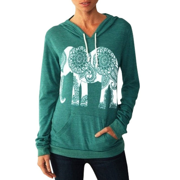 The Women's Elephant Hoodie