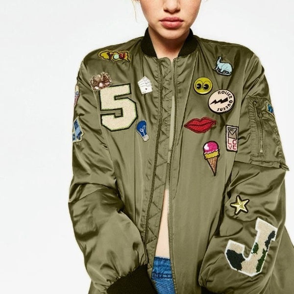 The Army Patterned Bomber