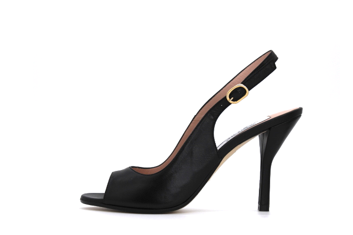 Open Toe Slingback 85mm Pump