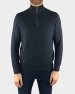 Grey 1/4 Zip Jumper