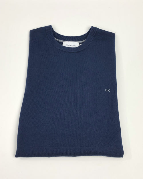 Superior Wool Crew Neck Jumper (+3 Colours)