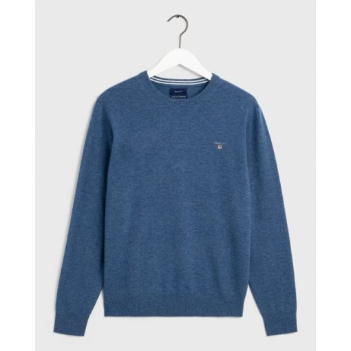 Gant Fine Wool Crew Neck Jumper (+ Colours)