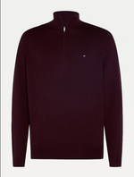 Tommy Hilfiger 1/4 Zip Cotton Blend Jumper (+ 2 colours)